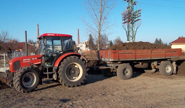 Služby traktorem
