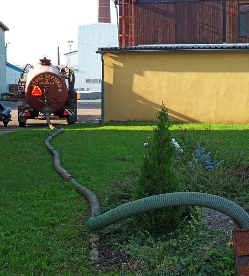 Vývoz septiku