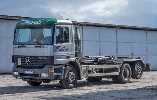Mercedes Actros 2643 – nosič kontejnerů