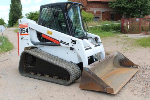 Traktorbagr CAT