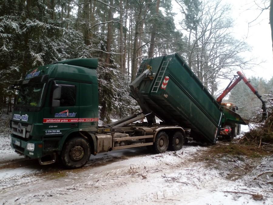 Mercedes actros - nosič kontejnerů